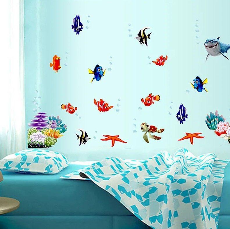 """Наклейка для детей """"Подводный мир"""""""