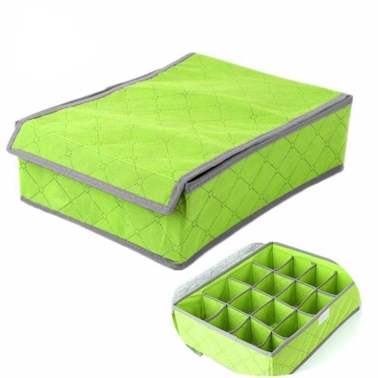 Органайзер для хранения нижнего белья, носков, ремней (24 ячейки)