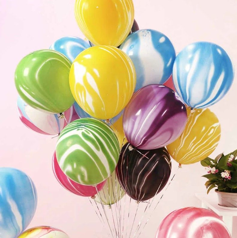 """Воздушные шары """"caramel mix"""" 10 шт."""
