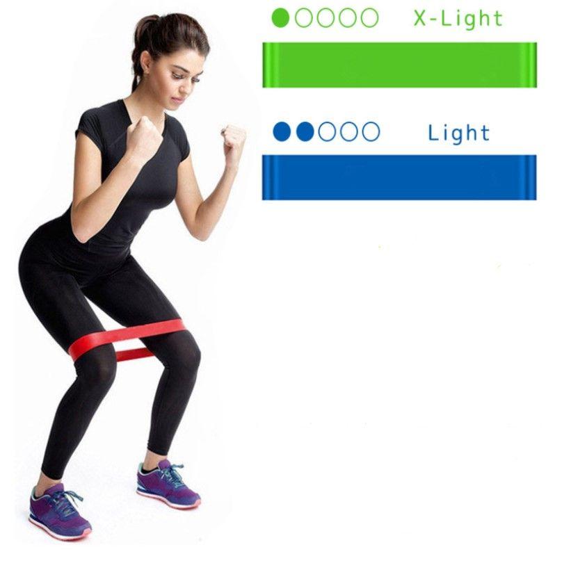 Резинки для фитнеса комплект из 2 шт.