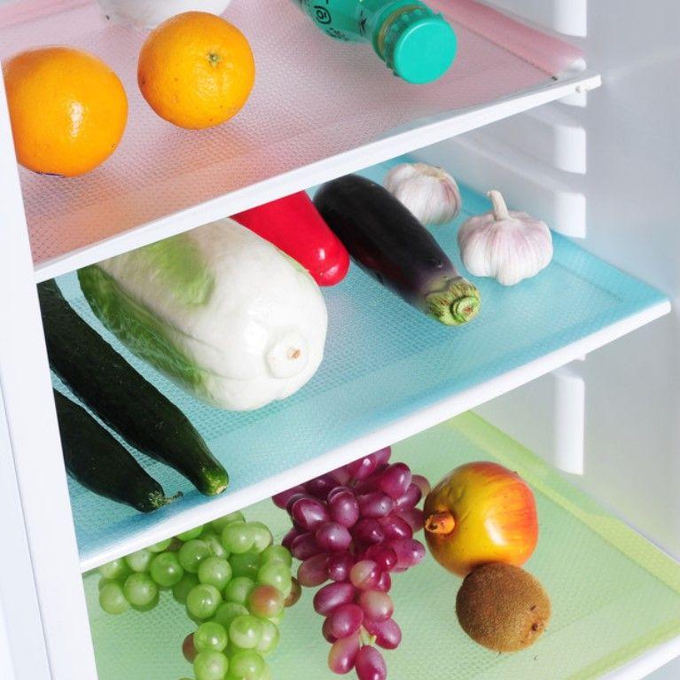 Набор ковриков для холодильника, 4 шт