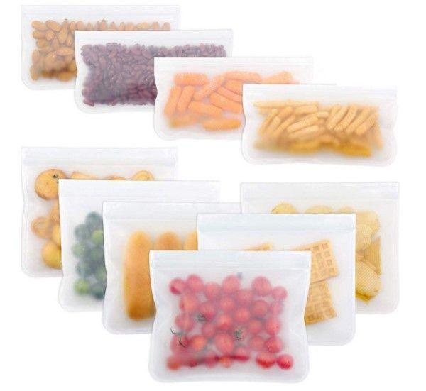 Многоразовый пищевой силиконовый контейнер 26*20 см