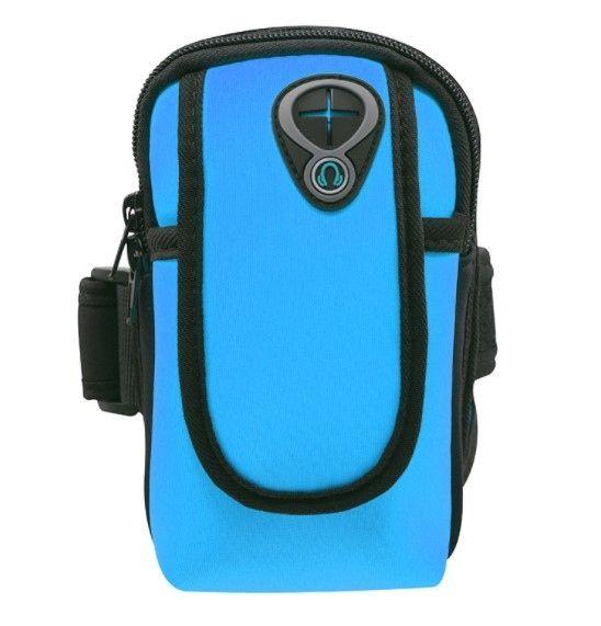 Спортивный чехол для телефона blue