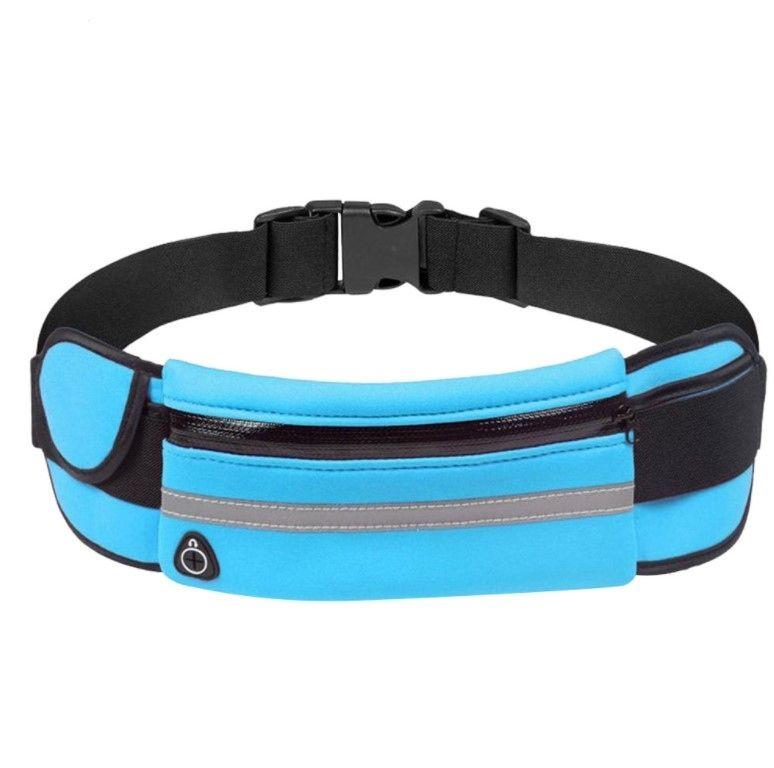 Универсальный спортивный чехол для смартфона blue